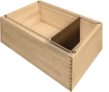 Hanging File System Insert Drawer Box Is Sold Separately